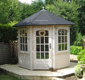 Woodpro Pavilion P83 – a great products of exceptional quality. Easy to build without the use of nails or screws.